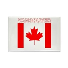 Vancouver, British Columbia Rectangle Magnet