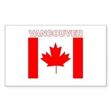 Vancouver, British Columbia Rectangle Decal