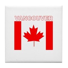 Vancouver, British Columbia Tile Coaster