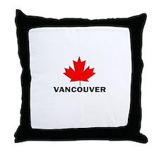 Vancouver, British Columbia Throw Pillow