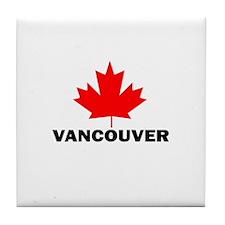 Vancouver, British Columbia Tile Coaster