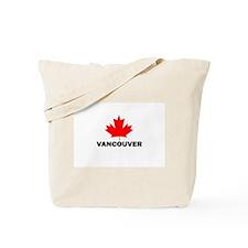 Vancouver, British Columbia Tote Bag