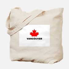 Vancouver, British Columbia Tote Bag