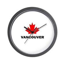 Vancouver, British Columbia Wall Clock