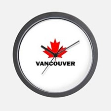 Vancouver, British Columbia Wall Clock