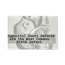 Most Common Birth Defect Rectangle Magnet