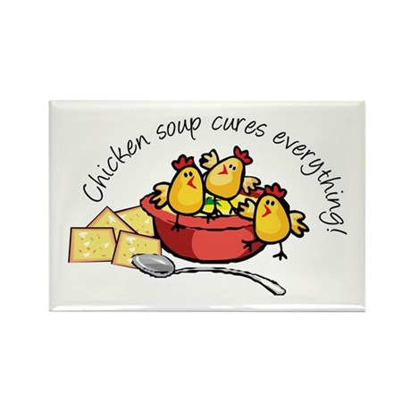 Chicken Soup Rectangle Magnet (10 pack)