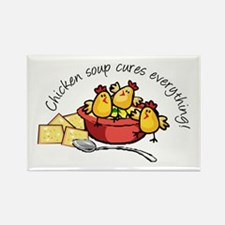 Chicken Soup Rectangle Magnet