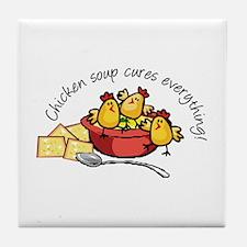 Chicken Soup Tile Coaster