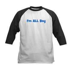 I'm ALL Boy! Blue Tee