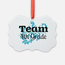 Team Fourth Grade Ornament