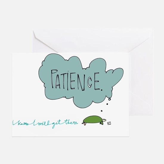 Patient Turtle Greeting Card