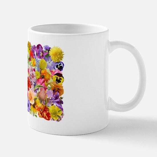 Eileens Multifloral long Mug