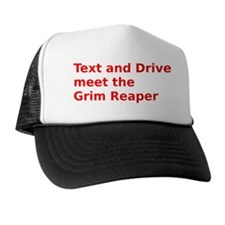 Text and Drive meet the Grim Reaper Hat