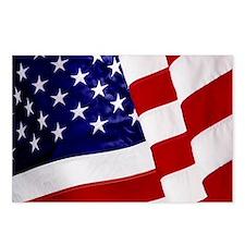 U.S. Flag ft mk Postcards (Package of 8)