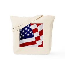 U.S. Flag ft mk Tote Bag