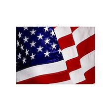U.S. Flag ft mk 5'x7'Area Rug
