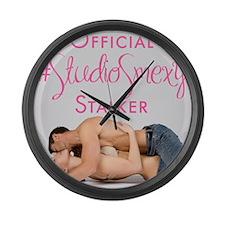 StudioSmexy Large Wall Clock