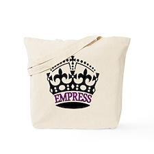 EMPRESS Purple Tote Bag