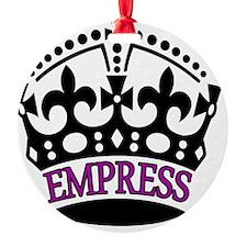 EMPRESS Purple Ornament