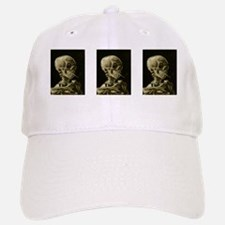 Skull with Cigarette Baseball Baseball Cap