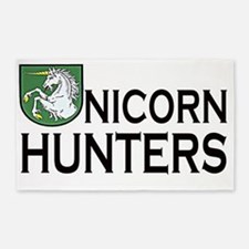 Unicorn Hunters 3'x5' Area Rug