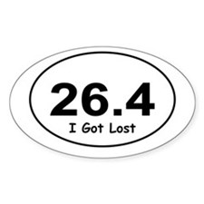 26.4 Marathon I Got Lost Decal