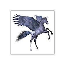 """Flying Pony 1 Square Sticker 3"""" x 3"""""""