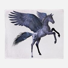 Flying Pony 1 Throw Blanket