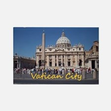 VaticanCity_10X8_puzzle_StPetersB Rectangle Magnet