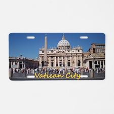 VaticanCity_10X8_puzzle_StP Aluminum License Plate