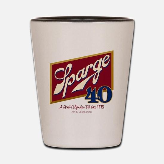 SPARGE 40 T-shirtt Shot Glass