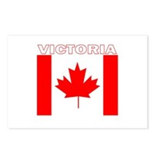 Victoria, British Columbia Postcards (Package of 8