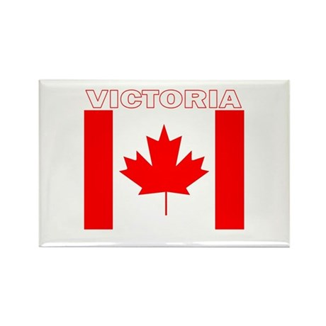 Victoria, British Columbia Rectangle Magnet (100 p