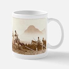 Blackfoot Indians Old Wild West Coffee Mug