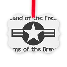 Home of the Brave Ornament