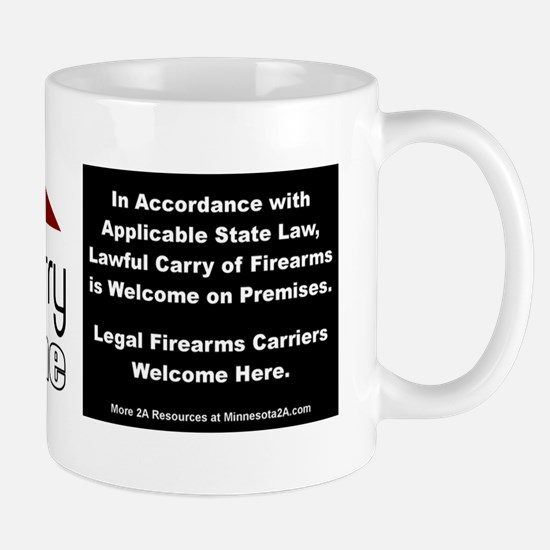 Lawful Carry Welcome window sticker (an Mug