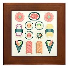 Sushi Framed Tile