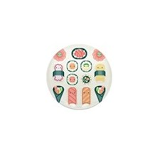 Sushi Mini Button