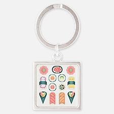 Sushi Square Keychain