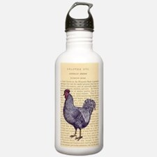 Vintage Plymouth Rock  Water Bottle