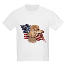 Poodle (Apr) Flag T-Shirt