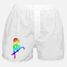 Polly the Poly Parrot Boxer Shorts