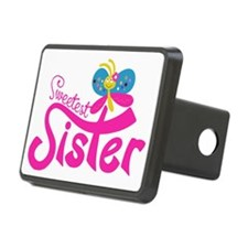 Pink Sweetest Sister Hitch Cover
