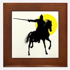 Eastern Knight Framed Tile
