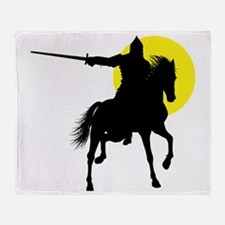 Eastern Knight Throw Blanket