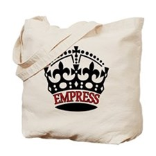 EMPRESS Red Tote Bag