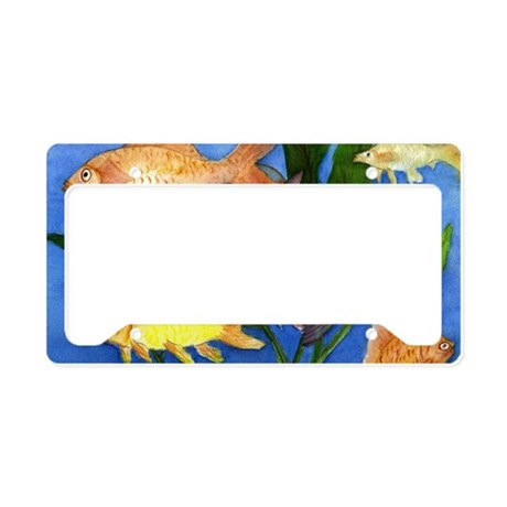 Fun fish license plate holder by admin cp3632229 for Fishing license plate