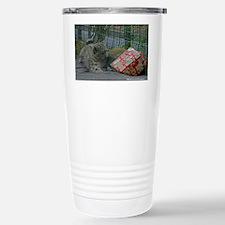 Snow Leopard and Preset Travel Mug