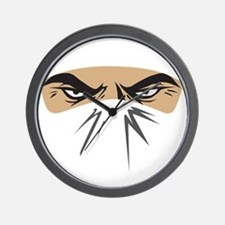 Ninja For Hire Wall Clock